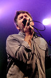 LCD Soundsystem band performs at Barcelona. BARCELONA, SPAIN - NOV 6: LCD Soundsystem band performs at Razzmatazz on November 6, 2010 in Barcelona, Spain Stock Images