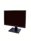 LCD su un fondo bianco Fotografie Stock Libere da Diritti