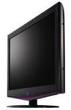 LCD televisie. stock afbeeldingen