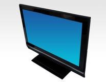 LCD televisie Stock Fotografie