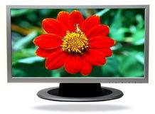 Lcd televisie stock foto's