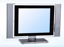 Lcd televisie royalty-vrije stock afbeelding