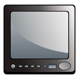 LCD television Stock Images