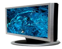 Lcd television Stock Photography