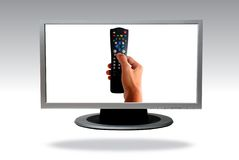 Lcd television Royalty Free Stock Photography