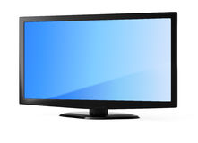 LCD televisor Royalty Free Stock Photo