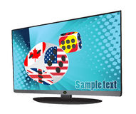 LCD Tv Stock Image