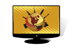 LCD TV Royalty Free Stock Images