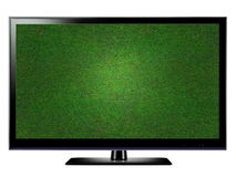 LCD TV royalty free illustration