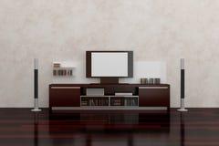 LCD TV Royalty-vrije Stock Fotografie