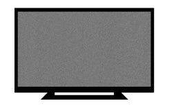 LCD TV Fotografia Stock