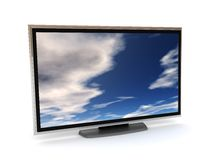 Lcd tv Royalty Free Stock Photography