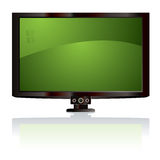 Lcd tv green Stock Images