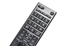 Lcd tv led remote control. A lcd tv remote control isolated on white Stock Photo