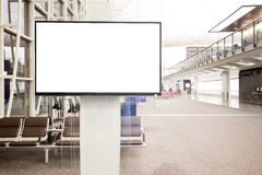 Lcd-TV med tomt kopieringsutrymme Fotografering för Bildbyråer