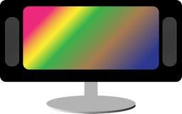 LCD TV/monitor Royalty Free Stock Image