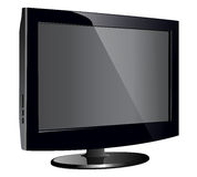 Lcd tv monitor Stock Photography
