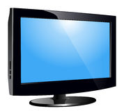 Lcd tv monitor Royalty Free Stock Photos