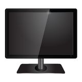 Lcd tv monitor Stock Photos