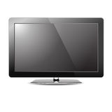Lcd tv monitor  Royalty Free Stock Photography