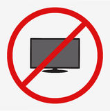 lcd tv monitor,  illustration. Royalty Free Stock Photos
