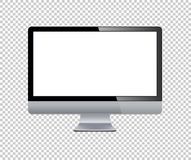 Lcd tv monitor isolated vector illustration Stock Images