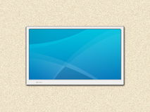 LCD TV screen Royalty Free Stock Image