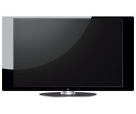 LCD TV set Royalty Free Stock Photography