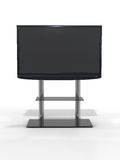 LCD TV set on white background Stock Photography