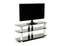 LCD TV with stand Stock Photography