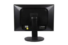 LCD van de computer monitor op de rug Royalty-vrije Stock Foto's