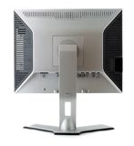 LCD vertonings achtermening Royalty-vrije Stock Afbeeldingen