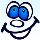 Lächeln Stockfoto