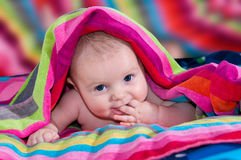 Lächeln der schönen Kinder Lizenzfreies Stockbild