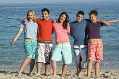 lächelnde Gruppe Lizenzfreie Stockbilder