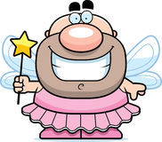 Lächelnde Karikatur-Zahn-Fee Stockbild
