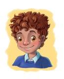 Lächelndes Kind Lizenzfreies Stockbild