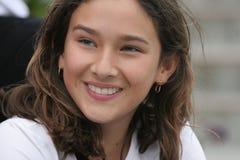 Lächelndes Mädchen Stockbild