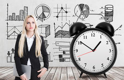 Lck of time concept Royalty Free Stock Photo
