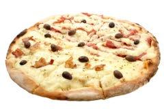 läcker pizza Arkivfoton