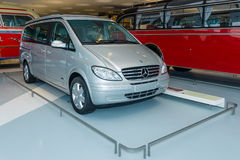 LCV Mercedes-Benz Viano Marco Polo CDI 2.2, (W639), 2005. STUTTGART, GERMANY- MARCH 19, 2016: Light commercial vehicle Mercedes-Benz Viano Marco Polo CDI, (W639 Stock Photography