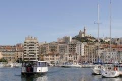 Ld渡轮在马赛港口法国 法国6月15日2006年马赛 免版税库存图片