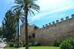 Old Alcudia Town Wall Royalty Free Stock Photo