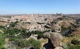 0ld miasteczko Toledo, Hiszpania Obrazy Royalty Free
