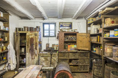 Ld painters shop at Hessenpark from inside in Neu Anspach Royalty Free Stock Photography