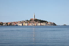 =ld town of Rovinj in Croatia Royalty Free Stock Photos