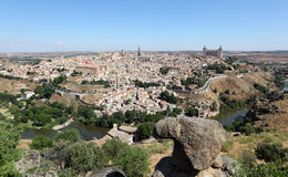 0ld town of Toledo, Spain Royalty Free Stock Images