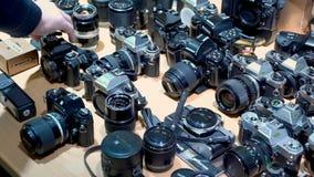ld vintage cameras at flea market