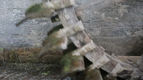 Ld watermill running stock footage
