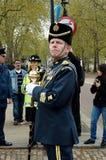 Líder de la banda de Buckingham Imagen de archivo libre de regalías
